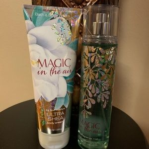 Bath & Body Works Body Cream & Fragrance Mist Set